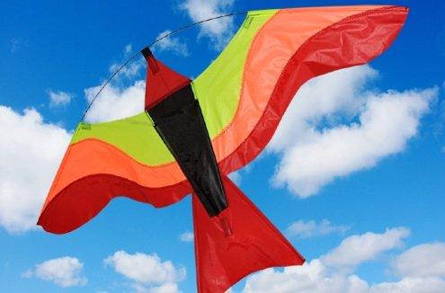 coloré Bird Kite – Rouge