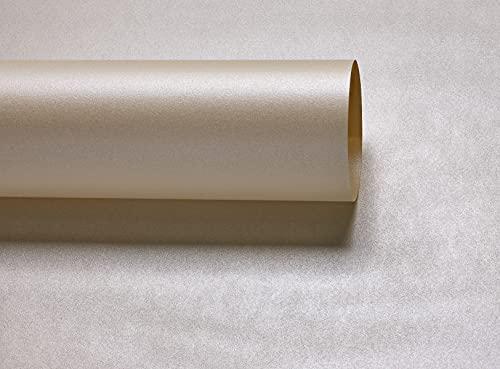 10x A4opal Kerzenlicht creme Herzblume Majestic Perlglanz Papier 120g/m² geeignet für Inkjet und Laser Drucker