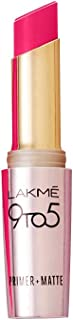 Lakme 9 to 5 Primer with Matte Lip Color, MP16 Pink Perfect, 3.6g