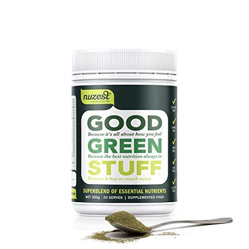 Nuzest Gut Green Stuff 300g Erfrischend Natur