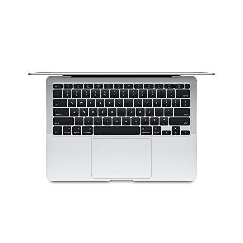 Apple MacBook Air (13-inch Retina Display, 8GB RAM, 256GB SSD Storage) – Silver (Previous Model)