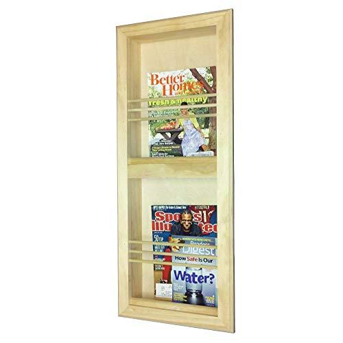 WG WOOD GROUP Zeitschriftensammler, doppelter Rahmen