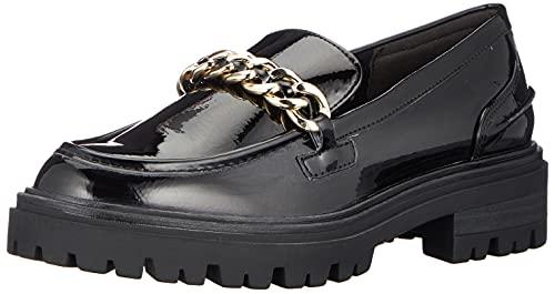 Tamaris Damen 1-1-24701-27 Slippers, Black PATENT, 40 EU