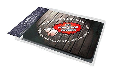 Les aventures de Jack Burton dans les griffes du mandarin «Pork Chop Express» Logo Tapis de souris