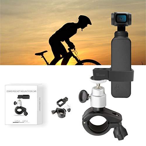 RC Gear PRO per DJI Osmo Pocket Handheld Gimbal Camera Supporto per Staffa per Montaggio su Bicicletta