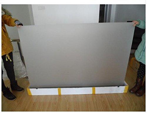 Gowe 1,524M * 3M selbstklebend transparent hinten Projektion, Film für Store Fenster, Holografische Projektion Bildschirm