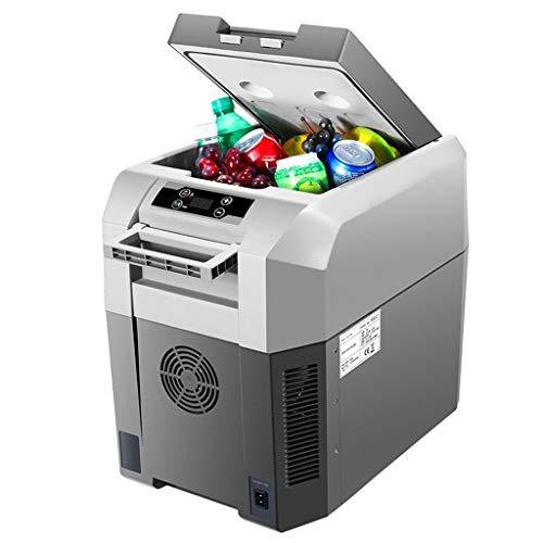 JGWJJ Refrigerador for automóvil Compresor portátil Refrigerador Congelador El automóvil y el hogar están disponibles Accesorios for automóviles de 12v / 24v / 220V Refrigeradores con pantalla LCD, en