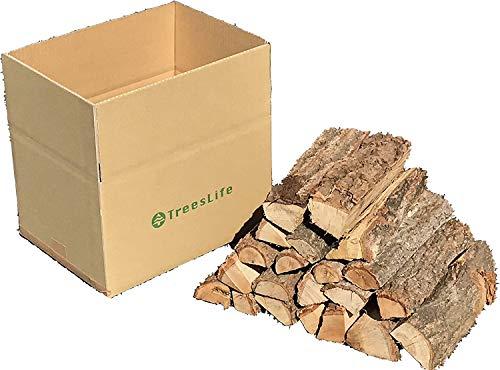 TreesLife クヌギ・ナラの薪 15㎏以上 1箱