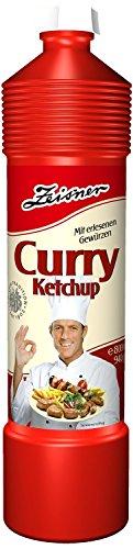 Zeisner Curry Ketchup 800ml Flasche