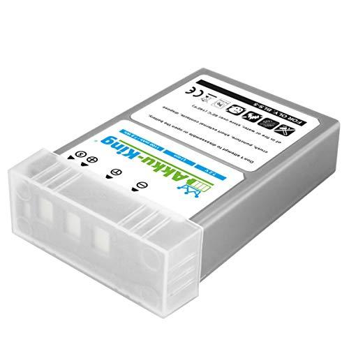 Akku-King Akku kompatibel mit Olympus BLS-5, BLS-50 - Li-Ion 1100mAh - für OM-D E-M10, E-M10 Mark II, Pen E-P3, Pen E-PL2, E-PL3, E-PL5, E-PL6, E-PL8