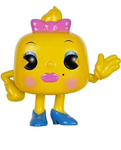 "Funko 7640 Pac Man 7640 ""POP Vinyl Ms Figure"