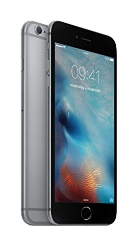 Apple iPhone 6s Plus Smartphone (13,9 cm (5,5 Zoll) Display, Plus 16GB interner Speicher, IOS) grey (Generalüberholt)