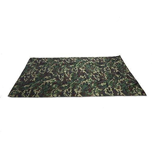 Camping Tarp - Rucksack Regenschutz Camouflage Regenschutz Camouflage wasserdichte Camping Shelter Tent Tarp bewegliche leichte Regenschutz-Matte for Outdoor-Picknick Camping (Größe : 2 1.5M)