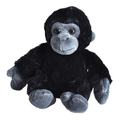 Wild Republic Gorilla Plush, Stuffed Animal Toy, Gifts for Kids, Hug'EMS 7'
