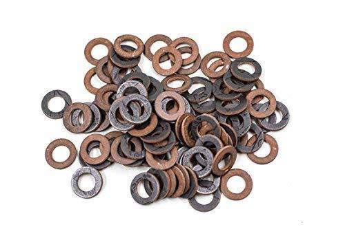 Platte pakking Type KLINGERsil AC 35.600 Gebaseerd op Kevlar® (tot 200 °C) Aramide vezel Meerdere maten en hoeveelheid 1/2 Inch = 18.5 x 11 x 2 mm