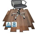 Floordirekt PRO - 16 Größen zur Wahl - Polycarbonat Bodenschutzmatte transparent...