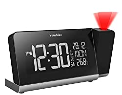Radio controlled clock ( MSF - UK Version ) with automatic time set up , Automatic time change for Spring & Autumn and automatic time checks Display of Time, Date, Weekday, Indoor temperature , Calendar with weekdays , 12/24 hour selectable Projectio...