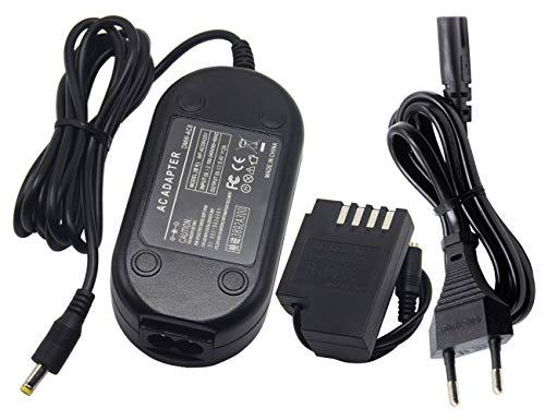 Ami.Todfo DMW AC8 - Fuente de alimentación para cámara con adaptador de...