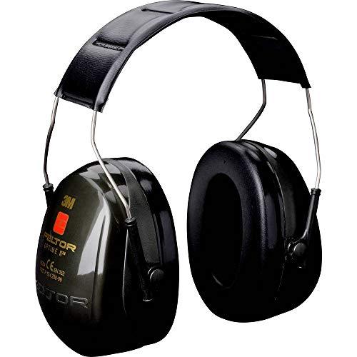3M Peltor Bull's Eye II Kapselgehörschutz grün – Nicht-elektronischer & faltbarer Ohrenschützer speziell für Jäger und Sportschützen – SNR 31dB Hörschutz auch bei hohen Lautstärken
