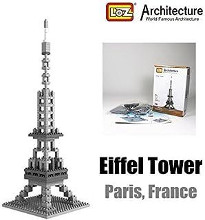 LOZ Eiffel Tower France Diamond Blocks Architecture Nano Mini Bricks Toy Gift