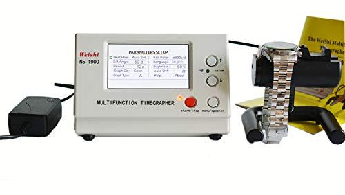 LLF Uhrenwerkzeug, Multifunktions-Timegrapher, LCD-Display, Nr. 1900, Koaxial-Tester, Timing-Uhr-Werkzeug, Werkzeug