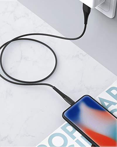 Cabepow 2Pack 2M iPhone Ladekabel Lang, [MFi Certified ] 2Meter Lightning Kabel, Schnellladung 6ft iPhone USB Ladekabel für iPhone 11/XS/XSMax/XR/X/8/8 Plus/7/7Plus/ 6s/6/6Plus/5S/5, iPad.