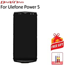 AiBaoQi for Ulefone Power 5/Power 5s Touch Screen+LCD Display+Frame Assembly Replacement
