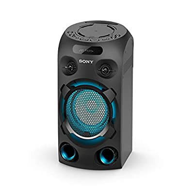 Sony MHC-V02, Compact High Power Party Speaker. One Box Music System, Blue from Sony