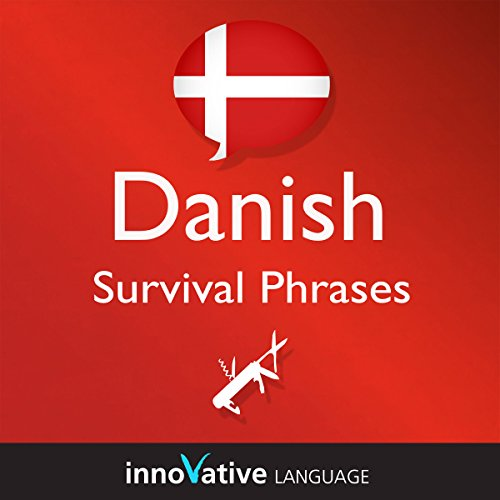 Learn Danish - Survival Phrases Danish, Volume 1 cover art