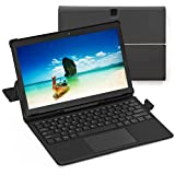 [3 elementos de bonificación] Simbans TangoTab XL 11.6 Pulgadas Tableta y Teclado, 2 en 1 Portátil, Android 10, 4 GB RAM, 64 GB, Mini-HDMI, 8 MP, USB, GPS, Dual WiFi, Bluetooth Computadora PC - TLXL