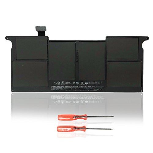 """Batería de Repuesto para Apple MacBook 11"""" A1495 A1406 para A1370 (Mediados 2011) A1465 (Mediados 2012 Mediados 2013 Principios 2014) -7,6V 38,75Wh Li-Polymer"""