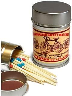 レトロラベル缶マッチ・自転車003