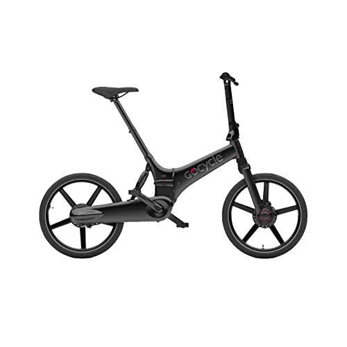 Gocycle GX - Bicicleta eléctrica Plegable, Color Negro Mate