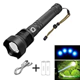 Navy Dedicated Flashlight High Lumens Super Bright Waterproof, Torch Rechargeable Led Torchtactical Flashlight