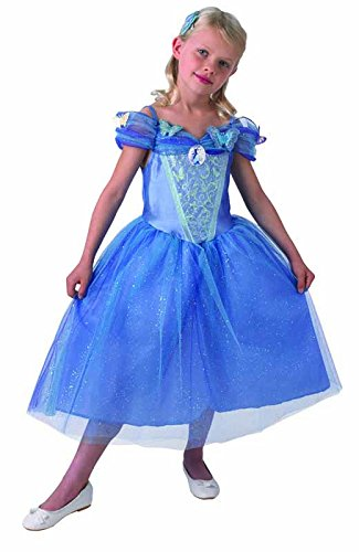 Rubie's IT620288-L Live Action Costume Cinderella in doos, maat L
