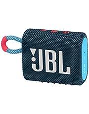 JBLGO3BLUP Portable Waterproof Speaker-BluePink