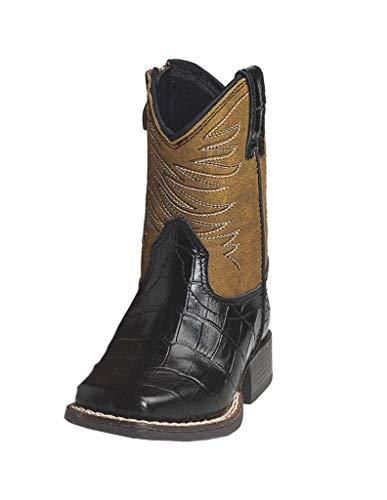 ARIAT baby girls Cowboy/Western boots, Brown, 8 US