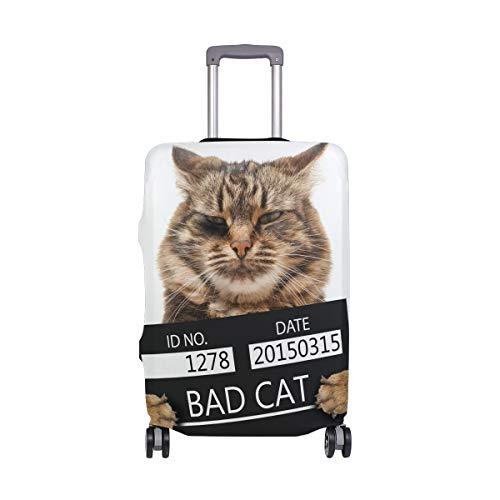 ALINLO - Funda para Maleta de Viaje con diseño de Gato de 18 a 32 Pulgadas
