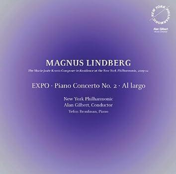 Lindberg: EXPO - Piano Concerto No. 2 - Al largo