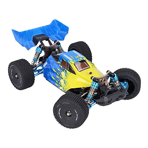 Coche RC, Coche de control remoto a escala 1:14 para niños F16 2.4G RC Drift Sports Racing Car Metal High Speed 60km/h Vehículo eléctrico RC Drift Racing Toys Coche Regalo para niños y adultos