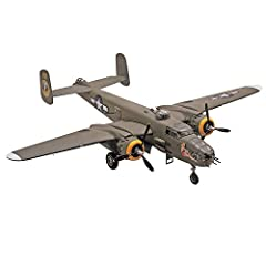 Features: machine guns mounted in glass nose and weighted tires Detailed crew figures Waterslide decals 138 pieces molded in light gray and clear plastic Illustrated assembly instructions
