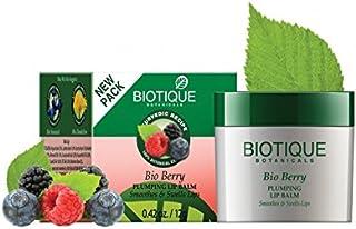 Biotique Bio Berry Plumping Lip Balm, 12g (Pack of 2)