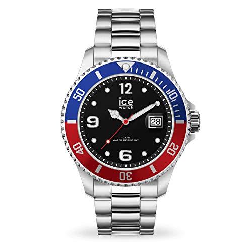 Ice-Watch Ice Steel United Silver, Orologio Soldi da Uomo con Cinturino in...