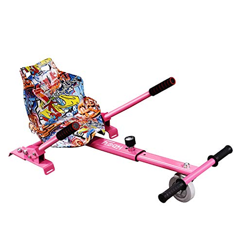 """Hiboy HC-01F Go Kart Conversion Kit Hoverboard Kart Seat Attachment Accessory for 6.5"""" 8"""" 10"""" Two Wheel Self Balancing Scooter"""