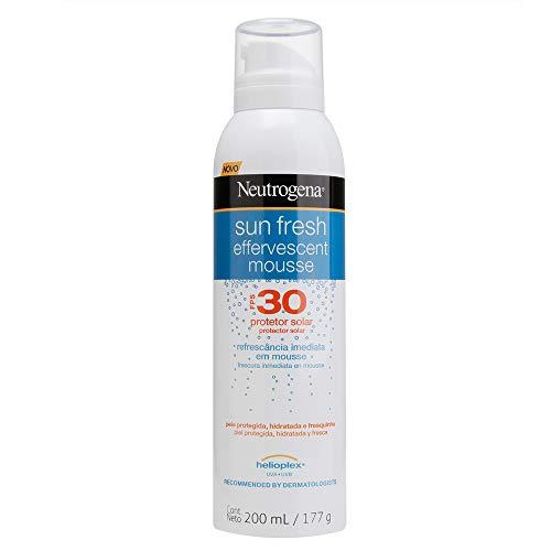 Protetor Solar Sun Fresh FPS30 Mousse Efervecente, Neutrogena, 200ml