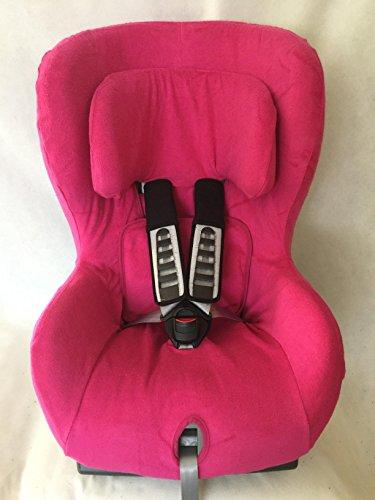 Sommerbezug Schonbezug Frottee für Römer King Plus Safefix TT bis 2015 Frottee 100% Baumwolle pink