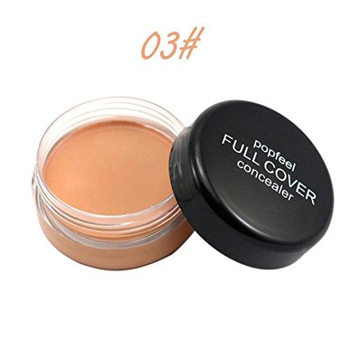 Gaddrt Popfeel Cache maquillage visage, palette Fondation crème hydratante (C)
