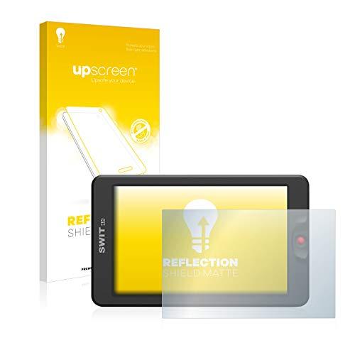 upscreen Entspiegelungs-Schutzfolie kompatibel mit Swit 3000 – Anti-Reflex Displayschutz-Folie Matt