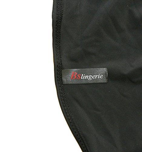 Bslingerie® Sexy Damen Retro Bademode Übergröße Halfter einteiliger Badeanzüge Monokini (S, Rot-Blau) - 4
