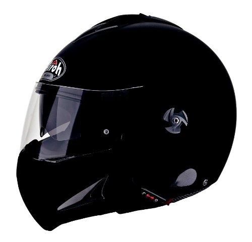 Airoh MTRSX11 Motorrad Helm Mathisse, Größe : 58 cm, Schwarz